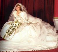Lady Diana's wedding dress