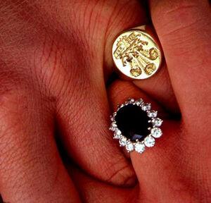 Diana and Charles Wedding Rings