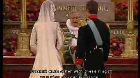 Frederik & Mary of Denmark's Wedding Vows