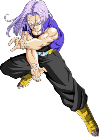 File:Render Dragon Ball Z Trunks Future.png