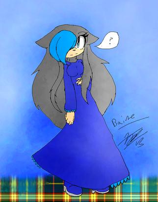 Baine The Hedgehog 1
