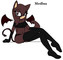 Medlina the Pet slave