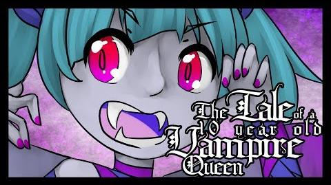 """Hatsune Miku """"The Tale Of A 10 Year Old Vampire Queen"""" Original Song"""
