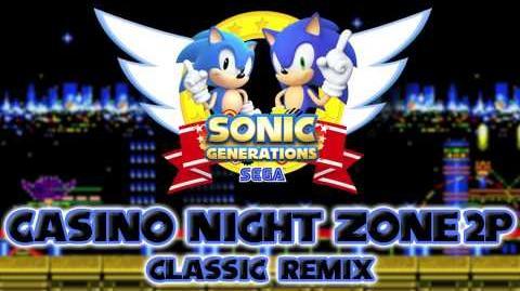 Casino Night Zone (2-Player) Classic - Sonic Generations Remix