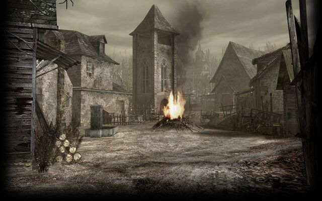 File:Resident Evil 4 Biohazard 4 Background RE4 Village.jpg