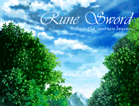 Rune Sword Title Screen