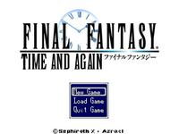 Ff time & again title