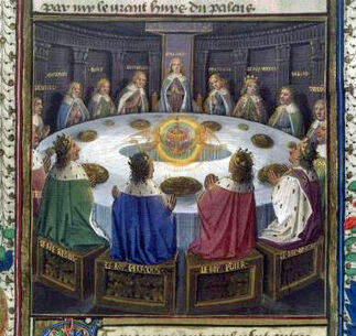 Knights of the Round Table. Graal (15th century)