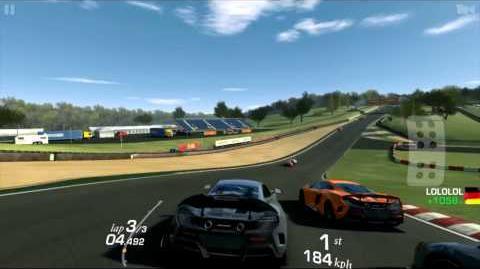 Real Racing 3 McLaren 675LT Gameplay Brands Hatch Indy Circuit RR3