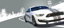Series Ford Shelby R3 Spec GT350R World Series