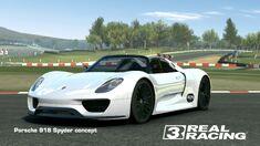 Showcase Porsche 918 Spyder concept