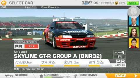 Real Racing 3; Unleash The Beast event; Stage 6.3