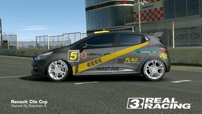 Clio Cup Team SB No.5 Side2