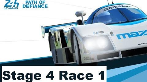 Path of Defiance Stage 4 Race 1 no Upgrades