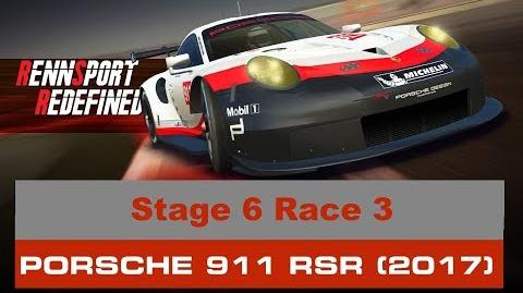Rennsport Redefined Stage 6 Race 3