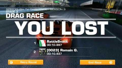 Speedrush TV - Season 3 Drag Race Stage 03 Goal 02