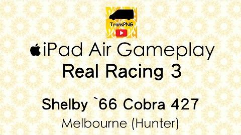 IPad Real Racing 3 (Shelby '66 Cobra 427) Melbourne - Hunter Gameplay-0