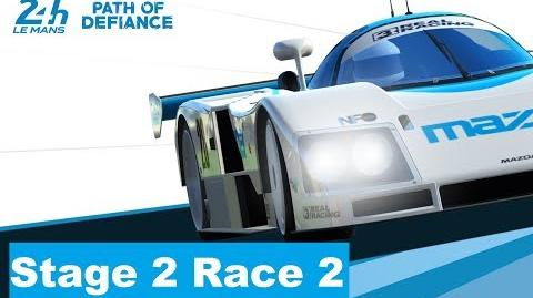 Path of Defiance Stage 2 Race 2