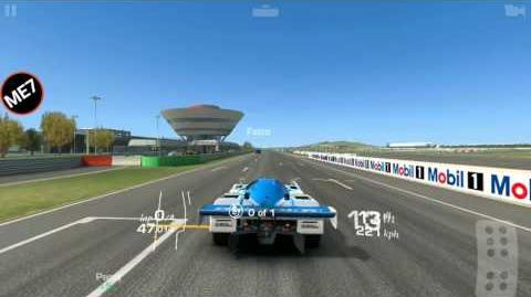 Real Racing 3, Path of Defiance, Stage 2.1 Porsche Long Track short cuts