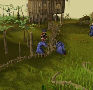 Providing aid to the jungle