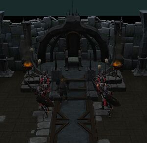 Kinshra throne
