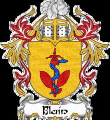 House blain heraldry