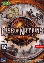 Thrones and Patriots-boxart