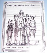 Clone Wars original cast 2005