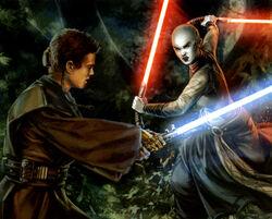 Anakin vs Asajj Yavin4.jpg