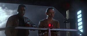 Rey and Finn Watch Kylo Ren and Han.jpg