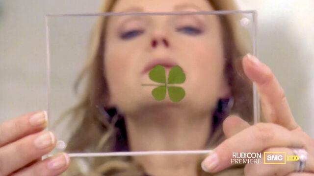 File:Rubicon s01 Katherine Four-Leaf Clover Gerald Bradley.jpg