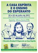 Jesus in esperanto flyer