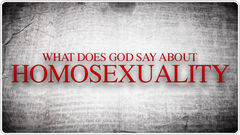 Homosexuality-WDGSA