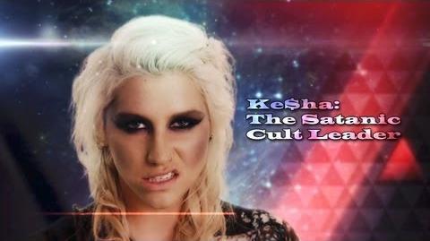 Kesha The Satanic Cult Leader