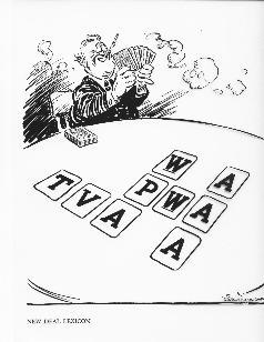 File:Editorial cartoon mocking FDR's -Alphabet agencies-.jpg