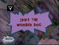 Spike The Wonder Dog Title Card