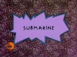 Submarine Title Card