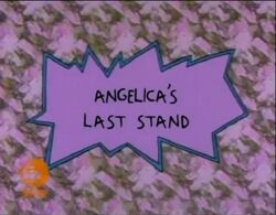 Rugrats - Angelicas Last Stand