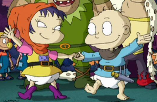 All Grown Up Toys : Image tommy and kimi dance together rugrats wiki