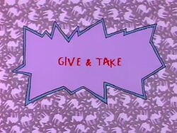 Rugrats - Give & Take