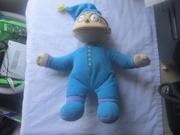 Tommy Pickles Plush Soft Blue Pajamas Pj's Toy