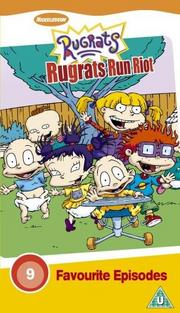 Rugrats Run Riot VHS Cover