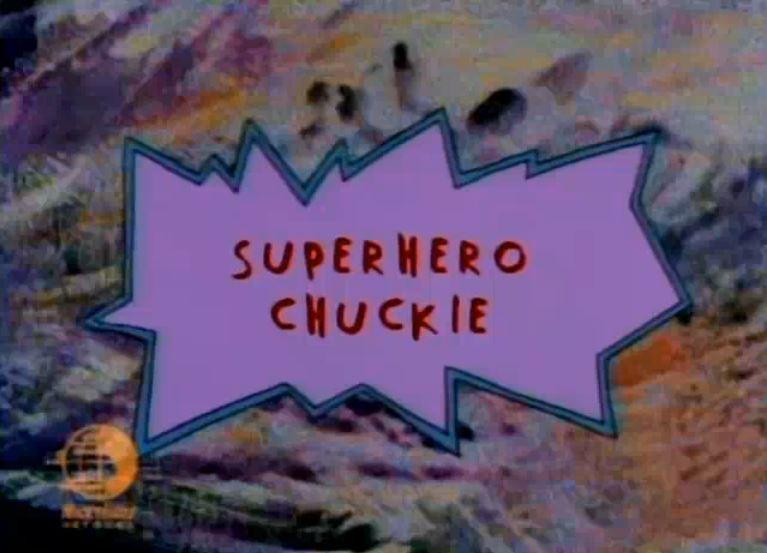 Superhero Chuckie Rugrats Wiki Fandom Powered By Wikia