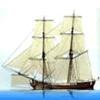 Ship - Navy Snow