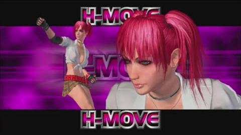 Rumble Roses XX - Candy Cane H-Move (Rafflesia)