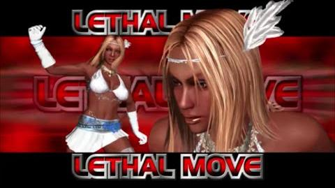 Rumble Roses XX - SS Aisha Lethal Move (Critical Punch Rush)