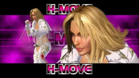 Rumble Roses XX - Dixie Clements H-Move (Double Bridge Hold)