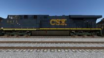 Run8 ES44DC CSX