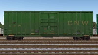 R8 Boxcar 50ft PlateF CNW01
