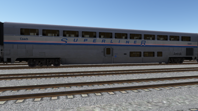 R8 Amtrak CoachPhsIV